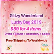 Glitzy Wonderland Lolita Lucky Bag $59 for 4 items (GWLP)